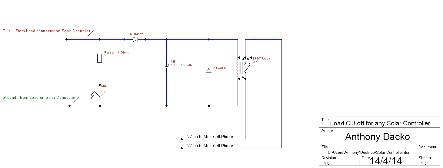 Welcome To This Page On How To Build Your Own GSM Power Load Cut - 12 volt on off relay