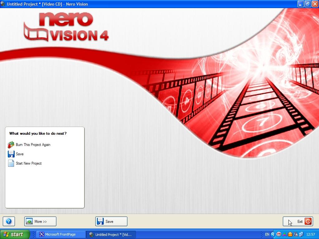 Nero Vision_4_RUS очень простая и удобная в использовании программа