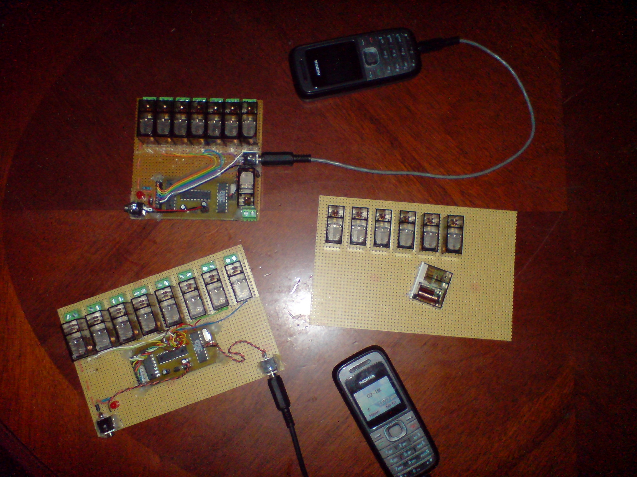 Welcome To This Second Part Of How Build A Simple Cell Phone 8 Relay Control Circuit Now If You Would Like See The Finished Unit Working I Have Fixed Lamp Channel One Will Flash As Turned Ringer Off